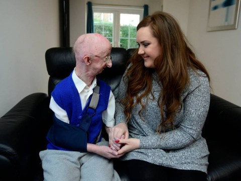 Disabled pensioner Alan Barnes describes meeting fundraiser as 'absolutely magic'