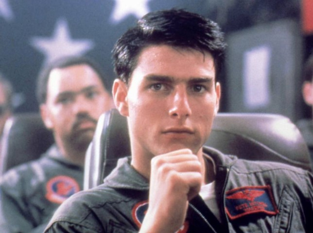 Photo by Moviestore Collection/REX (1637888a) Top Gun, Tom Cruise Film and Television