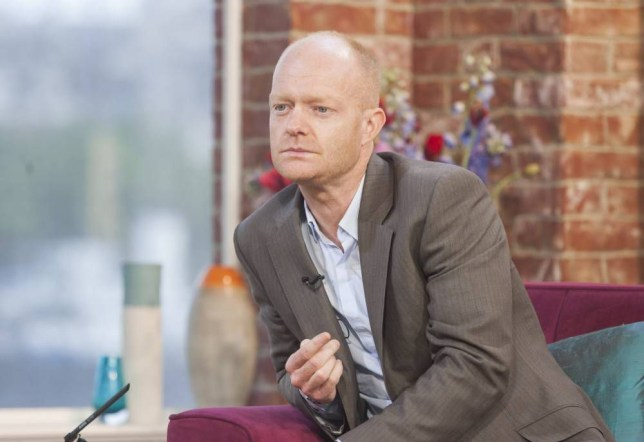 EDITORIAL USE ONLY / NO MERCHANDISING  Mandatory Credit: Photo by Steve Meddle/REX (2594954h)  Jake Wood  'This Morning' TV Programme, London, Britain - 26 Jun 2013  JAKE WOOD -  EastEnders' Max Branning - that's actor Jake Wood - on saying goodbye to Tanya. He popped into the studio yesterday to discuss why Walford hasn't seen the likes of their constant break-ups since Angie and Den's famous ding-dongs!