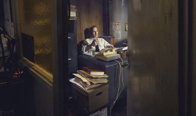 Bob Odenkirk as Saul Goodman - Better Call Saul _ Season 1, Gallery - Photo Credit: Ben Leuner/AMC