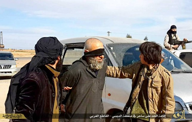 ISIS behead a man charged with dealing with witchcraft and another on charges of homosexuality