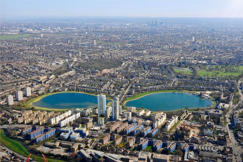 The 30-storey Skyline tower at Berkeley Homes' Woodberry Down development (Pic: supplied)