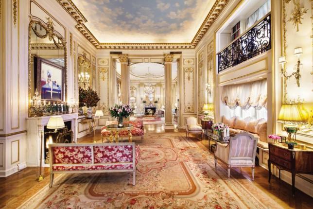 Joan Rivers' apartment in New York