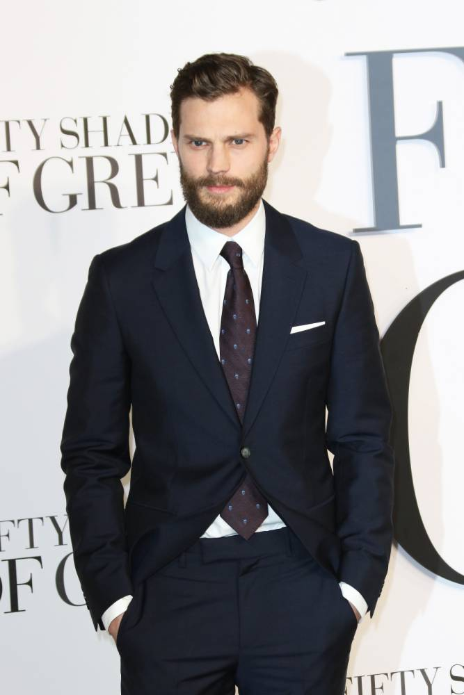 Jamie Dornan attends the Fifty Shades of Grey UK premiere in Leicester Square, London on 12 February, 2015. NEWZULU/RICHARD GOLDSCHMIDT