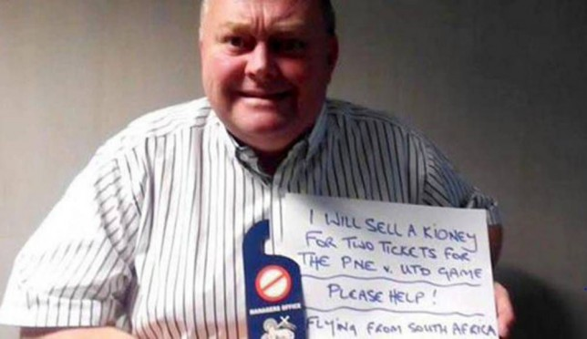 Preston North End fan given free tickets to Manchester United game after spending £5k to travel from South Africa