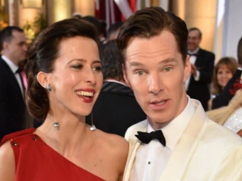As Oscar selfies go, Benedict Cumberbatch's is up there with the cutest