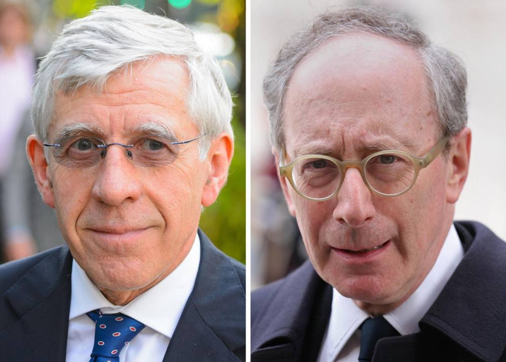 Undated file photos of Jack Straw (left and Sir Malcolm Rifkind.  The two former foreign secretaries are facing accusations that they were prepared to use their positions and contacts to benefit a private company in return for payments of thousands of pounds. PRESS ASSOCIATION Photo. Issue date: Saturday August 23, 2014. Straw and Rifkind have been named in an undercover investigation by the Daily Telegraph and Channel 4 Dispatches. Both men have strongly denied any wrongdoing. The two senior MPs were secretly filmed by reporters claiming to represent a Hong Kong-based communications agency called PMR which was seeking to hire senior British politicians to join its advisory board. See PA story POLITICS Lobbying. Photo credit should read: PA/PA Wire