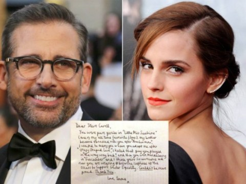 Emma Watson thanked Steve Carell for supporting #HeForShe and now we love them both more than ever