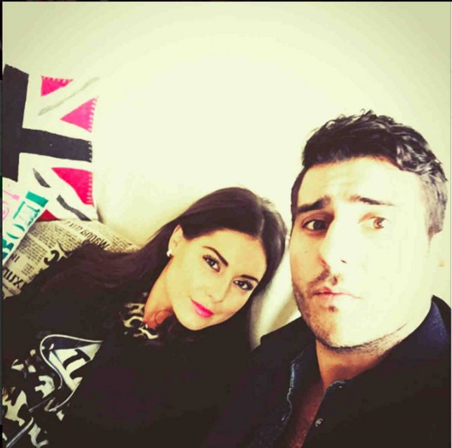 EROTEME.CO.UK FOR UK SALES: Contact Caroline 44 207 431 1598 Celebrity social network pictures. Picture shows: Louise Thompson and Alik. NON-EXCLUSIVE: Thursday 26th February 2015 Job: 150226UT2 London, UK EROTEME.CO.UK 44 207 431 1598 Disclaimer note of Eroteme.co.uk: Eroteme Ltd does not claim copyright for this image. This image is merely a supply image and payment will be on supply/usage fee only.