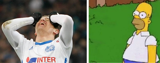 Marseille try and cheer up fans after Ligue 1 loss to Caen with funny Simpsons meme on Twitter