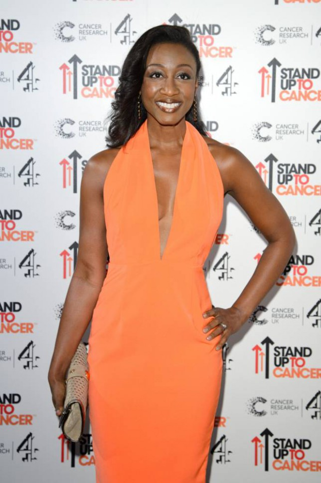Singer Beverley Knight attends the Stand Up To Cancer fundraiser at 3 Mills Studio in London, England.     LONDON, ENGLAND - OCTOBER 18:   (Photo by Ben Pruchnie/Getty Images)