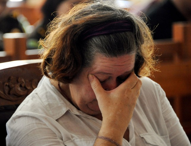 Linsay Sandiford in court being sentenced to death (Picture: Getty Images)