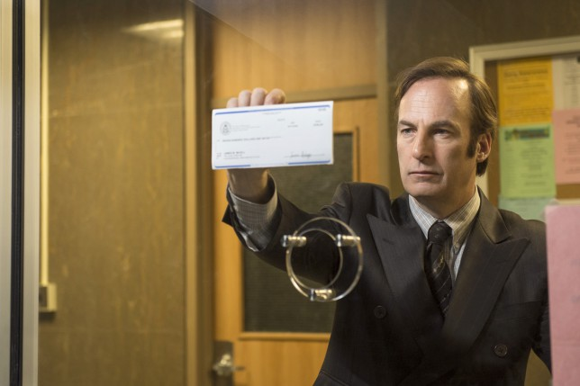 Bob Odenkirk as Saul Goodman hoto Credit: Ursula Coyote/AMC