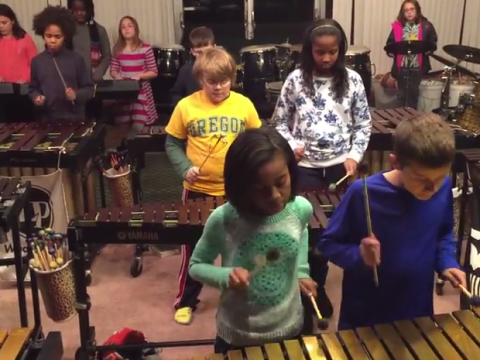 Schoolchildren perform astonishingly good Led Zeppelin cover – and Jimmy Page is a fan