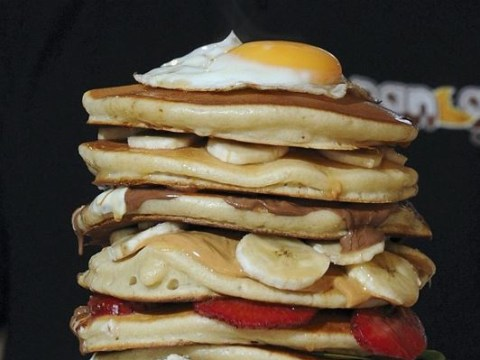 Reckon you could complete the 10 pancake tower challenge, aka The Beast?
