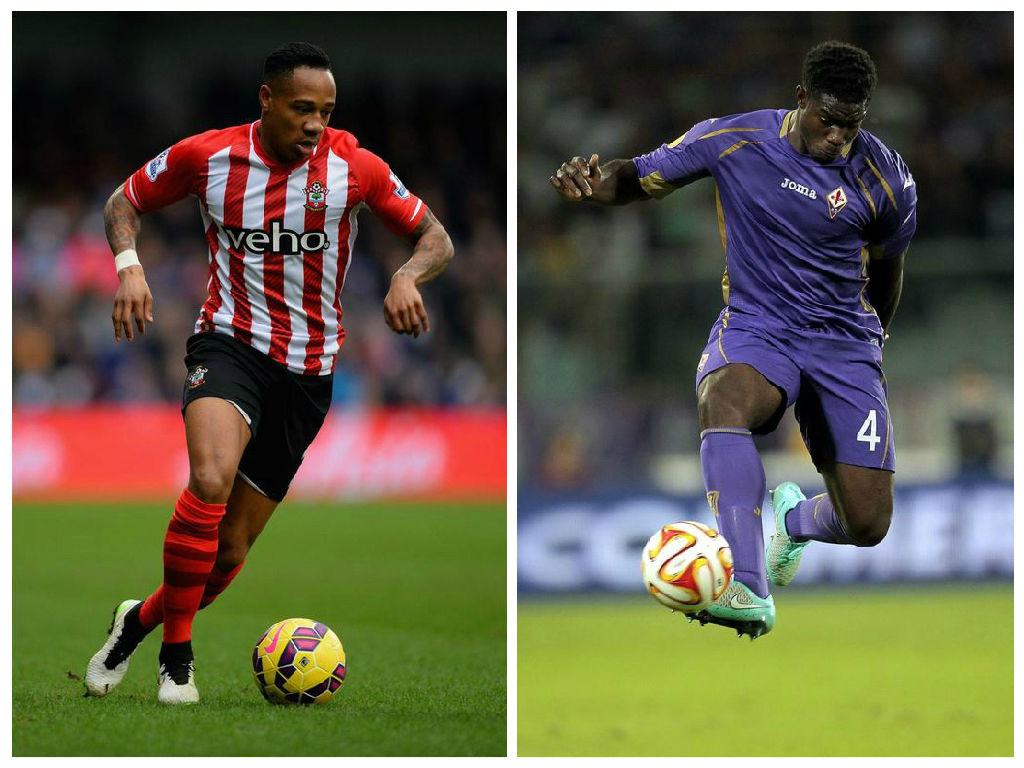Nathaniel Clyne and Micah Richards 'are wanted by Tottenham Hotspur'