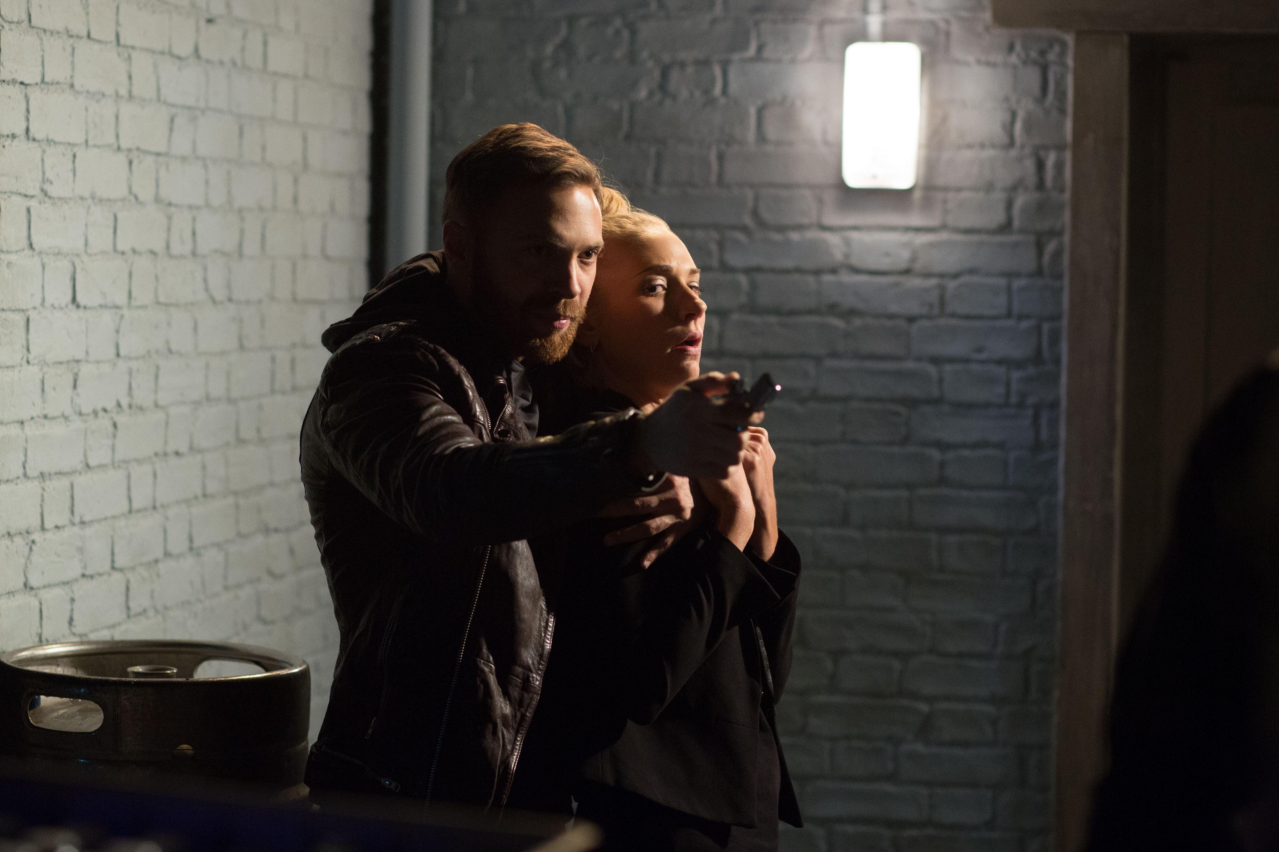 EastEnders live week spoiler pictures: Dean Wicks takes Nancy Carter hostage