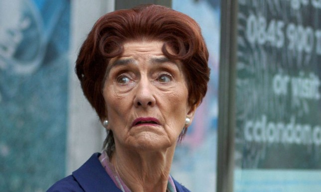 June Brown as Dot Branning in EastEnders (Picture: BBC)