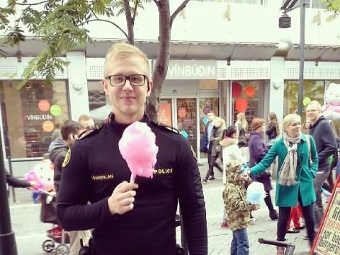 The Reykjavík metropolitan police force's Instagram is all the fun