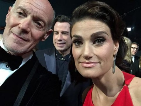 From Jennifer Aniston photobombing to more John Travolta awkwardness: The funniest celeb tweets from the Oscars 2015