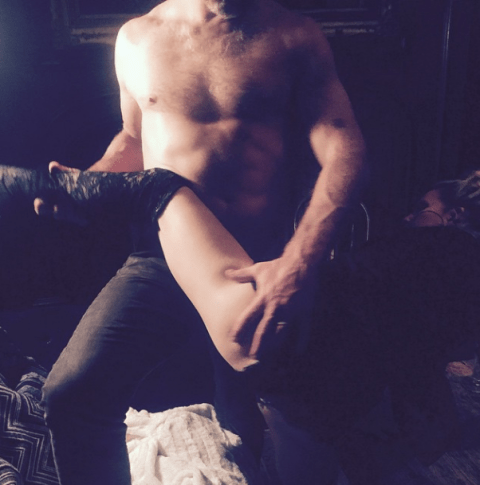 Jessica Simpson recreates steamy Fifty Shades Of Grey scenes as she gets sexy with her husband