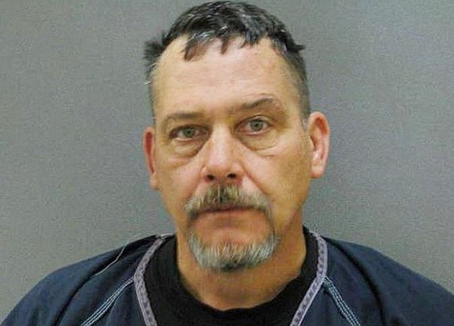 Michael Trudeau in his police mugshot (Picture: Chaska Police Department)