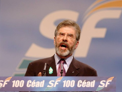 Gerry Adams loves to trampoline naked with his dog for 'the joy of it'