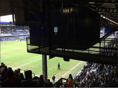 Unlucky Southampton fan pays £38 for this terrible view at QPR