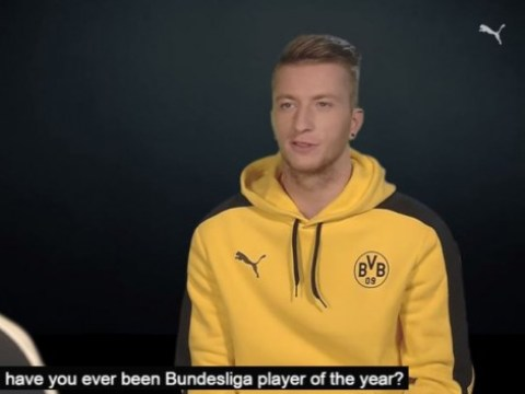 Marco Reus takes on Gianluigi Buffon in comical preview of Juventus' Champions League tie with Borussia Dortmund
