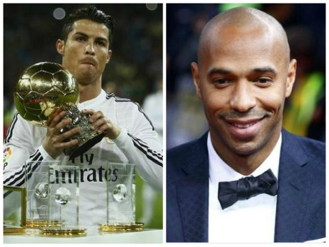 Cristiano Ronaldo voted greatest Premier League player EVER – ahead of Arsenal legend Thierry Henry