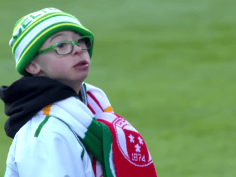 Celtic fan Jay Beatty wins Scottish Premier League Goal of Month award with 97% of votes cast