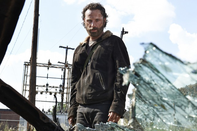 Andrew Lincoln as Rick Grimes - The Walking Dead _ Season 5, Gallery -