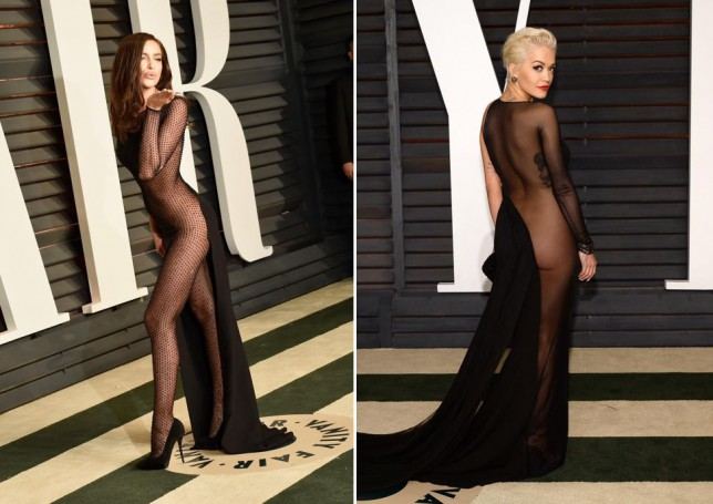 Oscars after dark: Rita Ora and Irina Shayk leave nothing to the imagination at the Vanity Fair after-party