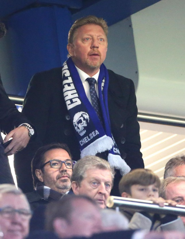 Boris Becker protests innocence after tennis legend spotted wearing Chelsea 'Headhunters' scarf