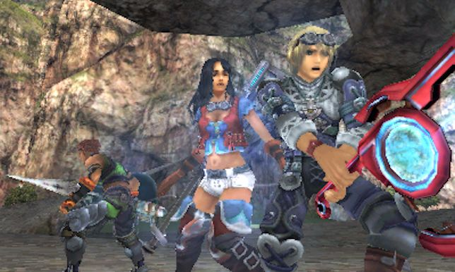 Xenoblade Chronicles 3D (New 3DS) - the wrong format for a great game?