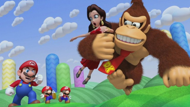 Mario Vs. Donkey Kong: Tipping Stars - this one picture is as much story as you get