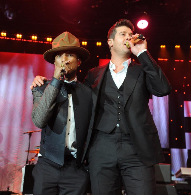 How much did Blurred Lines make Pharrell and Robin Thicke?