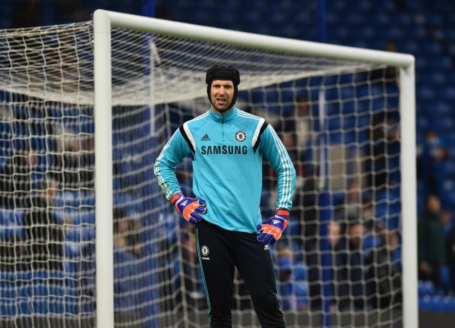Petr Cech wants to play more first-team football