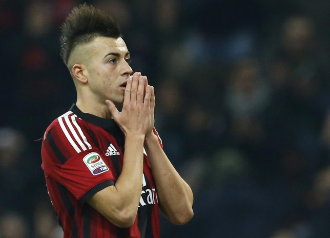 Arsenal target Stephan El Shaarawy 'pleased' Gunners are interested in a potential transfer
