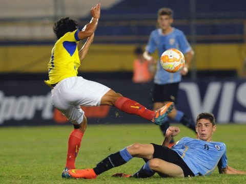 Arsenal 'close to £2.5m capture of South American midfielder Federico Valverde'