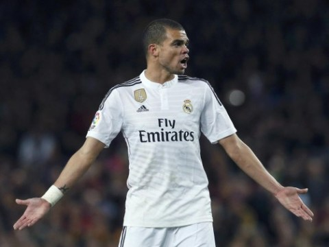 Real Madrid defender Pepe 'has emerged as a possible transfer target for Manchester United'