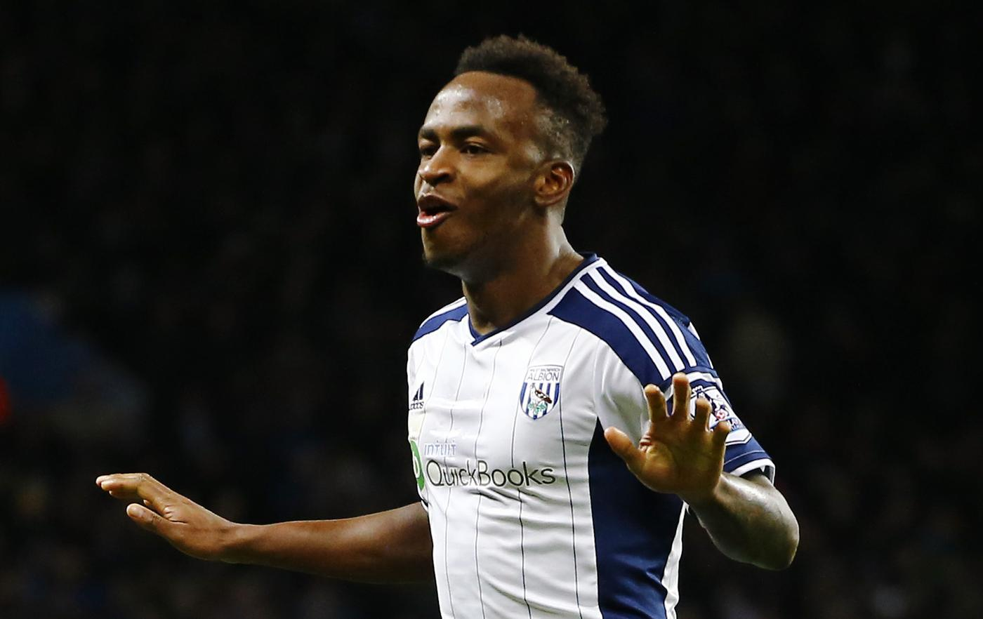 Tottenham are interested in signing Saido Berahino this summer (Picture:Getty)