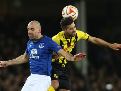 Darron Gibson injury could be major blow to Everton
