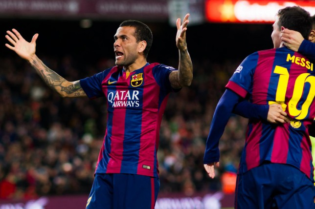 Manchester United transfer blow as target Dani Alves will be offered new Barcelona contract