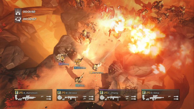 Helldivers (PS4) - brothers in arms