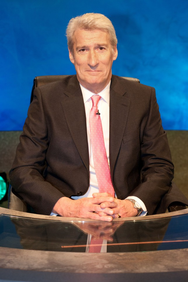 Jeremy Paxman reignites University Challenge sexism debate: Why are there no women?