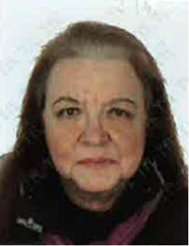 Pic shows Anna Maria Thomas.. A mentally ill lodger was today (Weds) found guilty of strangling a Mormon pensioner in her flat after she let him stay to avoid paying the spare bedroom tax... .. Felix Gutierrez-Cortez, 34, killed 61-year-old Anna Maria Thomas at her flat in Putney, southwest London, when she returned home from church on 8 December 2013... .. SEE STORY CENTRAL NEWS..