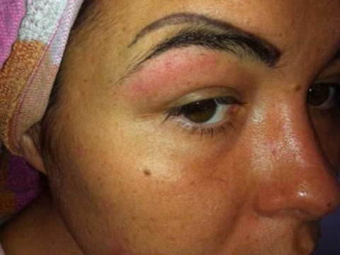 Girl left with four eyebrows after beautician botches tattoo filler brows