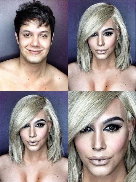 Instagram makeup artist transforms himself into Kim Kardashian and Dakota Johnson; proves he's a contouring wizard