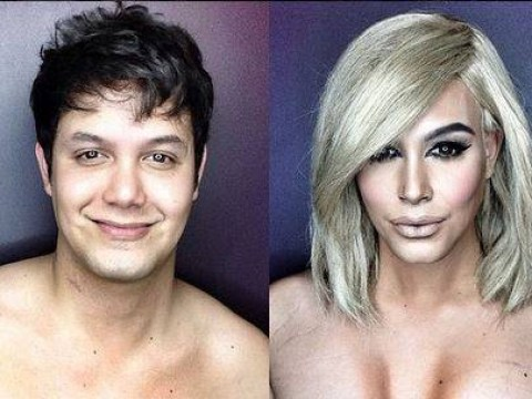 Instagram makeup artist transforms himself into Kim Kardashian and Dakota Johnson; proves he's a contouring wizard